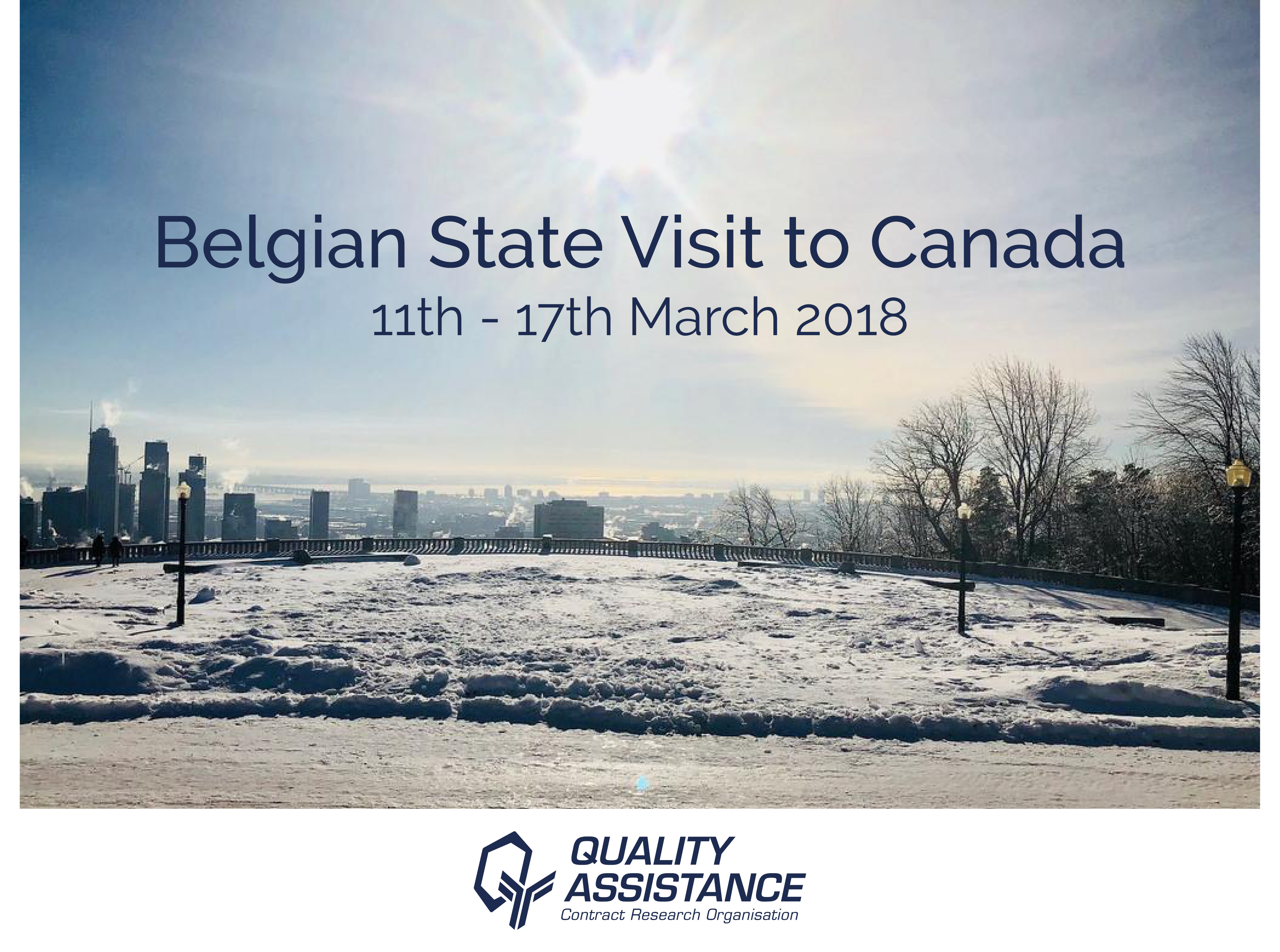 Quality Assistance Belgian State Visit BELCAN2018