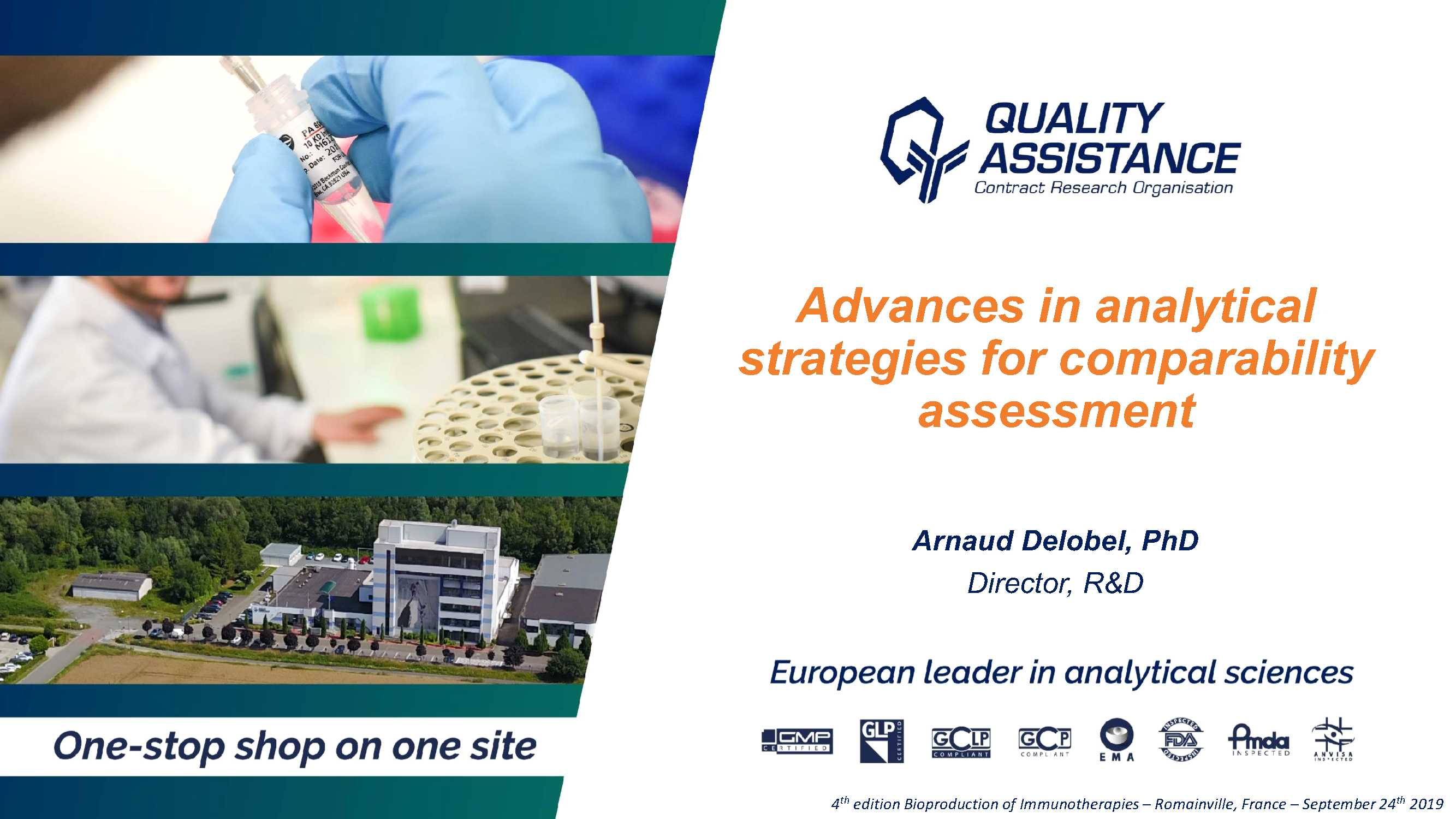 Quality Assistance Advances in analytical strategies