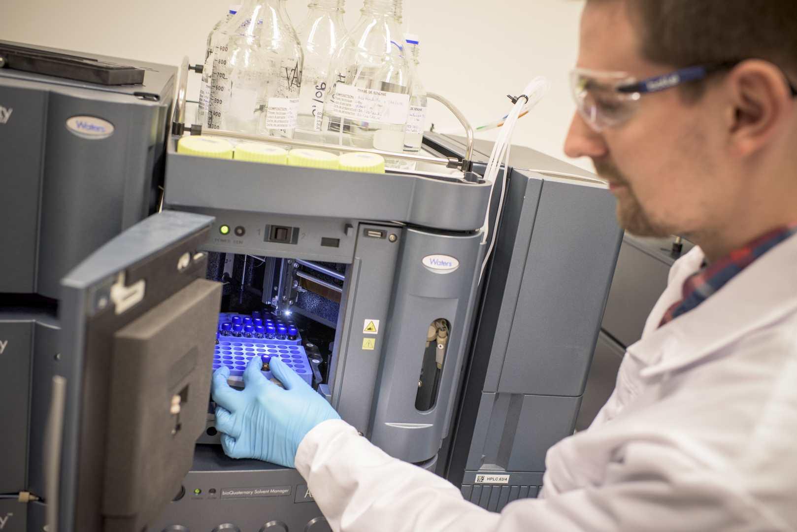 Quality Assistance job chromatography