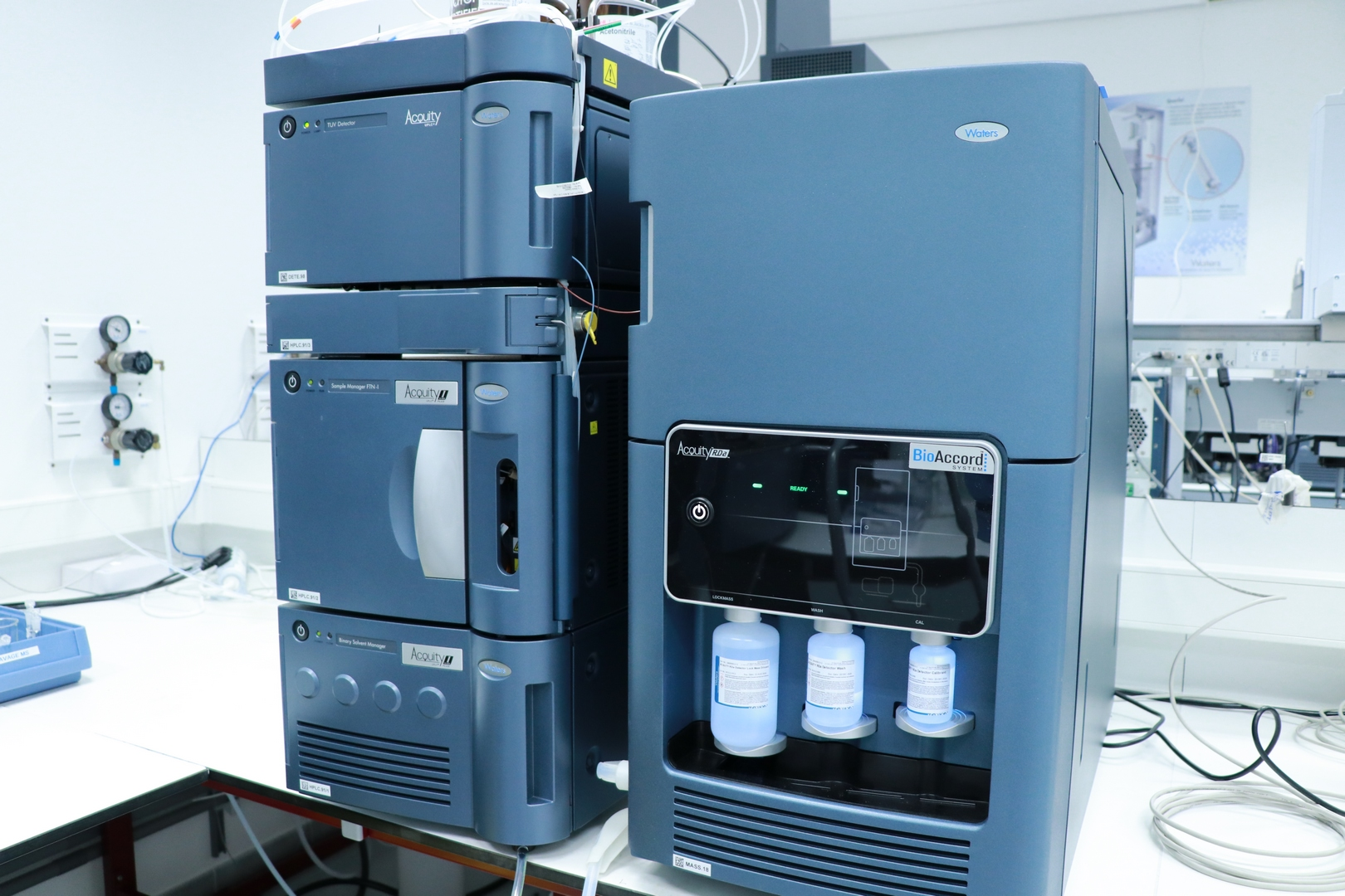 Quality Assistance Mass Spectrometry BioAccord