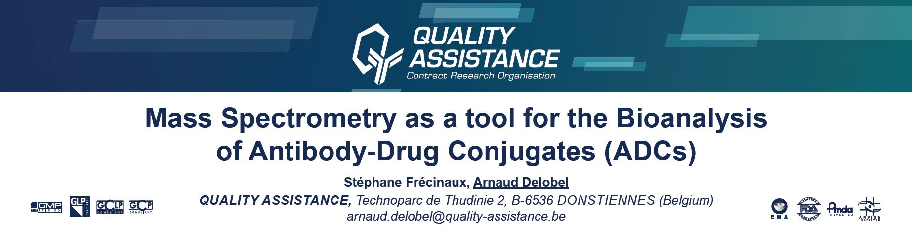 World ADC Quality Assistance poster