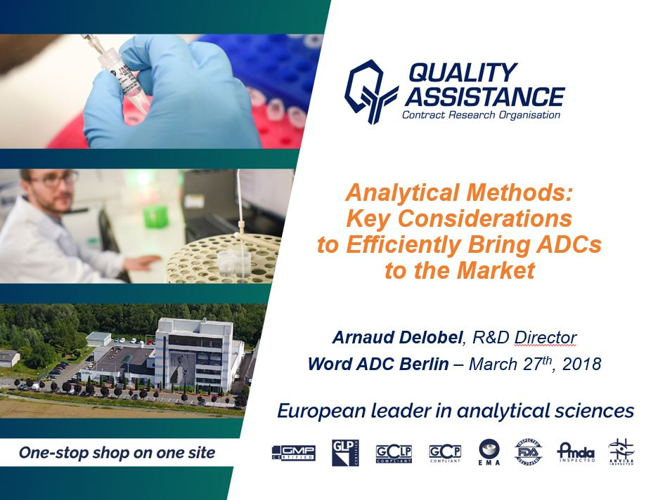 Analytical Methods: Key Considerations to Efficiently Bring ADCs to the Market